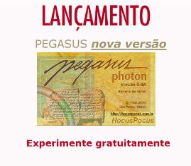 Programa Pegasus versão 9